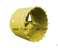 Core Barrel With Cross Cutter
