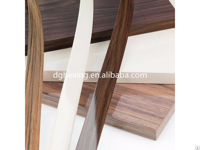 Wood Grain Pvc Edge Banding For Furniture