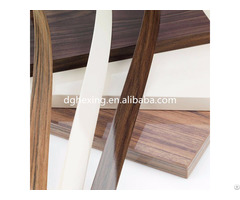 Wood Grain Pvc Edge Banding For Furniture