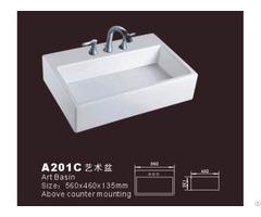 Vessel Rectangular Sink