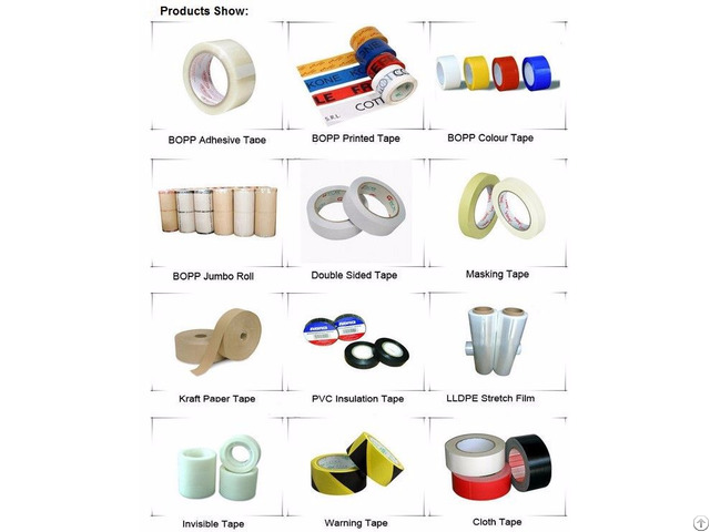China Good Quality Sticky Bopp Self Adhesive Packing Tape