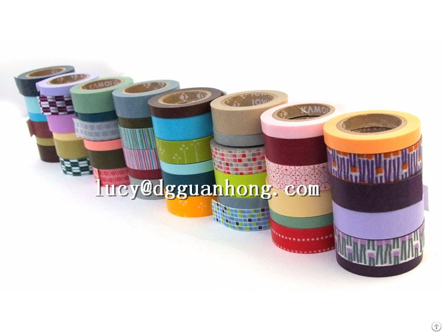 Colorful China Cheap Hot Sale Masking Adhesive Tape