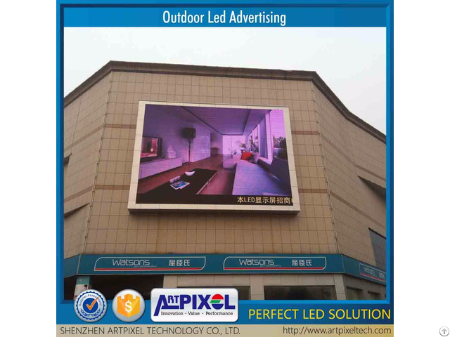 Latest Released Outdoor Usage Energy Saving Factory Price P8 Led Screen