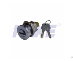 Cylinder Lock For Vending Equipment Zinc Alloy Brass Nickel Plated