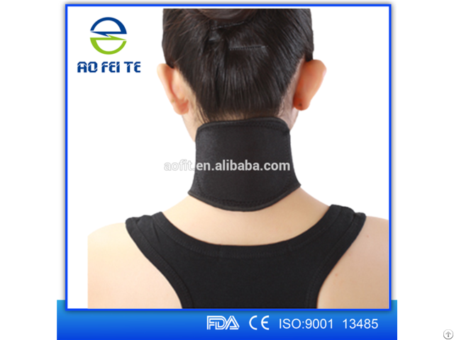 Wholesale Tourmaline Magnetic Self Heated Neck Brace Support Aft H001