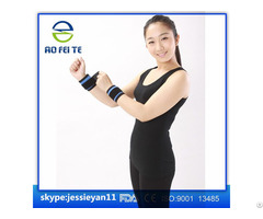 Factory Price Tourmaline Magnetic Wrist Brace Elastic Fabric Cloth Aft H004