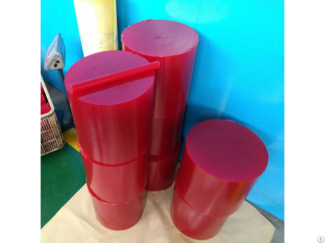 Durometer 70 95 Shore A Polyurethane Pu Round Bars For Industrial Seal