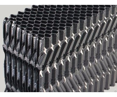 Offset Fluted Fills For Counter Flow Cooling Tower