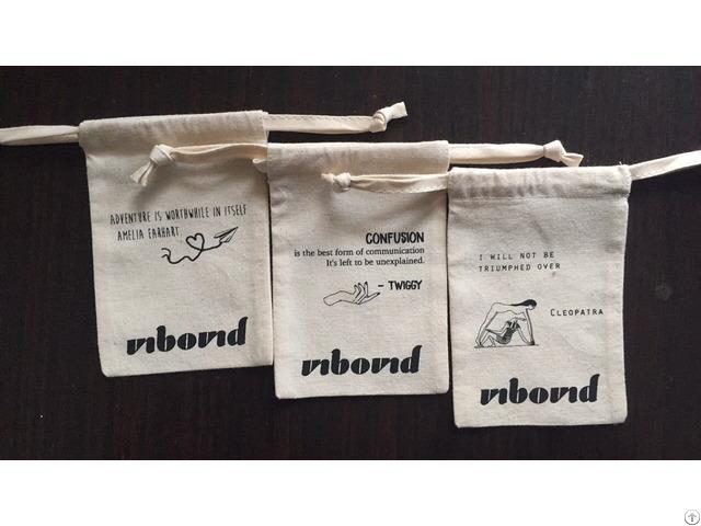 Custom Cotton Drawstring Bags