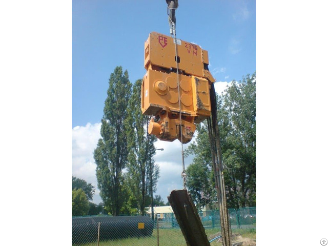 Vibro Hammer Pve 2316 Vm To Work On A Crane Or Piling Rig Used