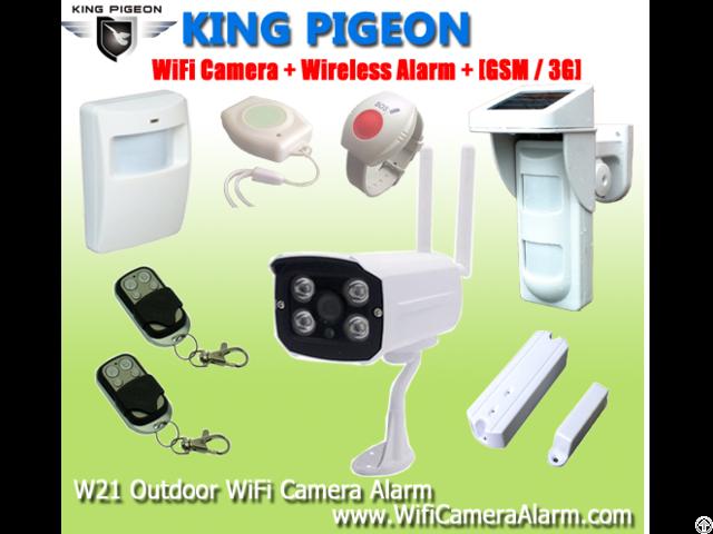 Wifi 3g Gsm Camera Alarm W12