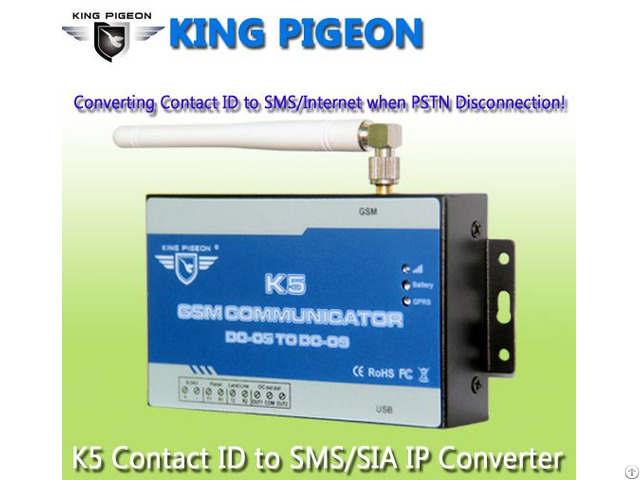 Gsm Communitcator Ademco Contact Id To Sia Ip Converter K5