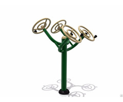 Qualified General Outdoor Fitness Tai Chi Spinner With Four Rotary Wheels Wd 155g