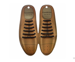 Silicone No Tie Shoelaces For Leather Shoes