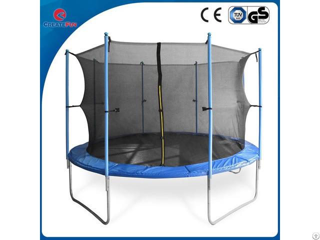 Createfun Round Large Outdoor Fitness Trampoline 10ft