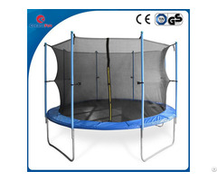 Createfun Round Large Outdoor Fitness Trampoline 10ft