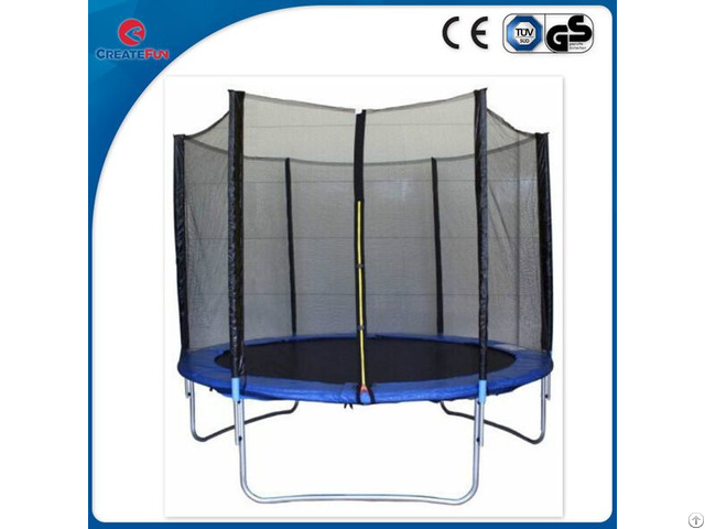 Createfun 8ft Large Kids Fiberglass Trampoline For Sale