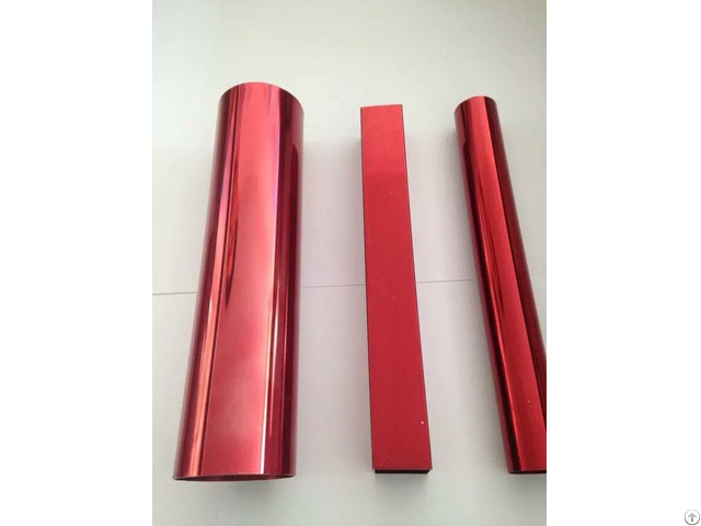 Stainless Steel Electrophoresing Pipe With Colurful Surface