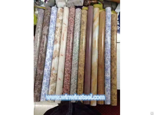 Marbled And Graining Stainless Steel Pipe