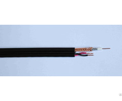 Siamese Coaxial Cable Rg59 With 2 0 75sqmm Power Line For Video System