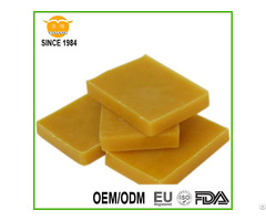 Yellow Natural Beeswax Slab Granule