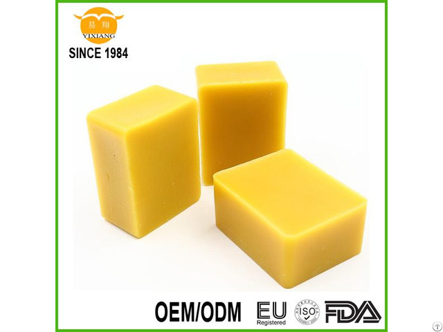 Best Quality 100% Purity Natural Yellow Beeswax Slab