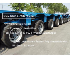 Goldhofer Thp Sl Modular Trailers For Mexico