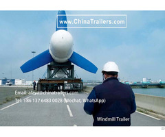 Wind Power Blade Trailer For Selling To America