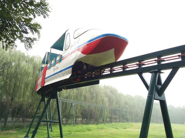 Park Transportation Monorail Train Resort Or Landscape Mover