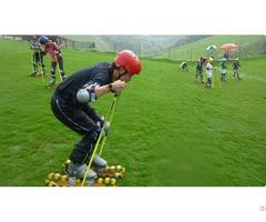 Grass Skiing Cart Equipment Mountain Outdoor Amusement Slide System
