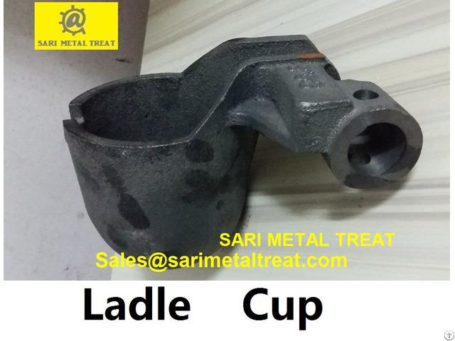 Diecasting Cast Iron Ladle Cup