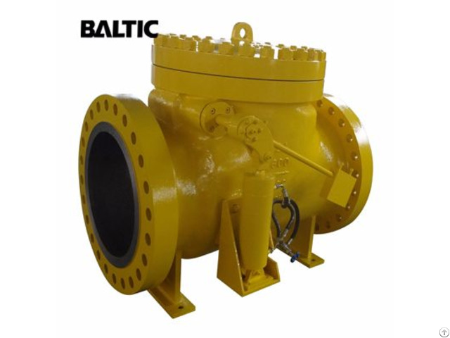 Bs 1868 Swing Check Valve Astm A216 Wcb 24 Inch Cl600 Rf