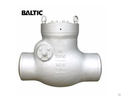 Pressure Seal Bonnet Swing Check Valve A217 Wc9 16in Cl2500
