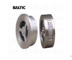 Single Disc Lift Check Valve Wafer A182 F316 Dn100 Pn10 Api 594
