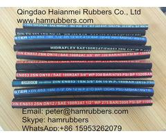 Din En857 1sc Wire Braided Hydraulic Hose