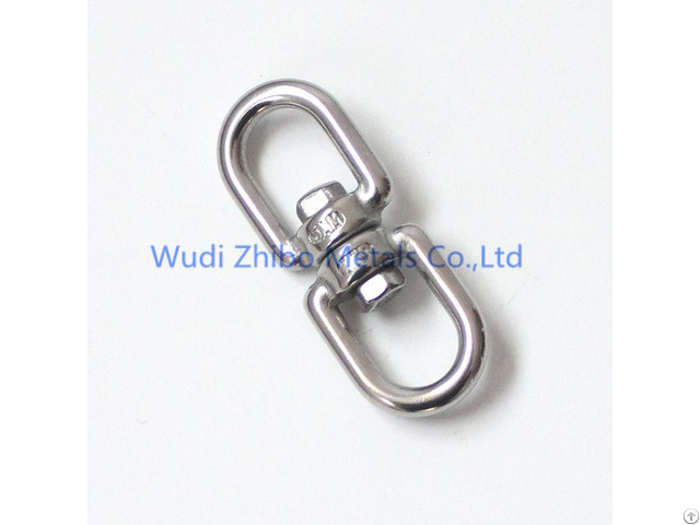 High Quality Rigging Hardware Stainless Steel Marine Swivel