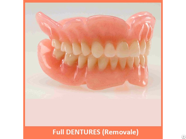 Full Dentures Removale