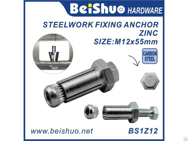 Expansion Blind Bolt For Structural Steel Tube