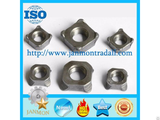 Square Weld Nut Stainless Steel Welded Nuts