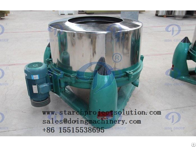 Starch Centrifugal Screen Cassava Processing Machine