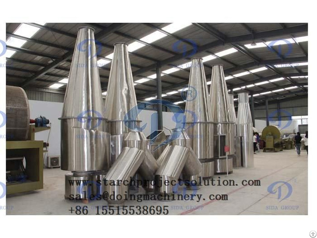 Stainless Steel Industrial Starch Flash Dryer