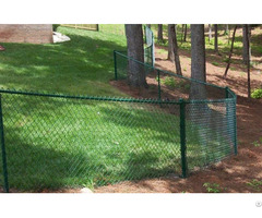 Green Chain Link Fence Fabric