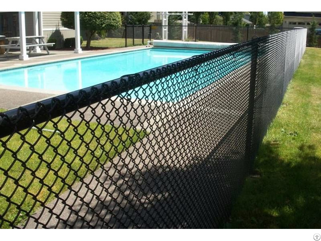 Chain Link Swimming Pool Fence