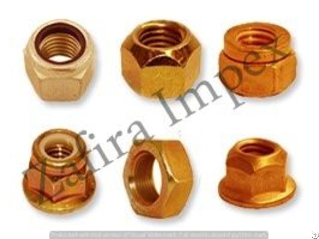 Brass Metric Nuts