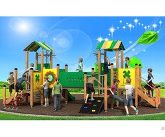 Wd Bc208 Pe Combined Slide Outdoor Playground Equipment Quality Assurance