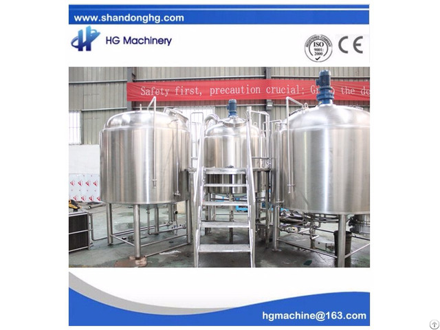 Ce Standard New Condition Sus 2000l Brewery Equipment Used For Craft Beer House