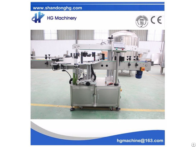 Ce Standard Self Adhesive Labeling Machine Used For Pet Bottles
