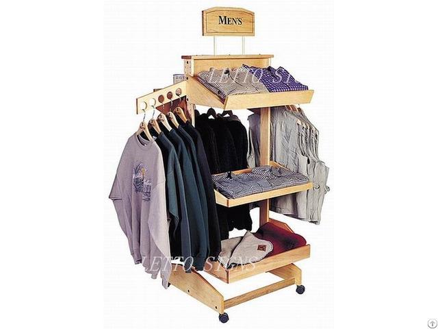 Newest Design Sports Clothes Store Fixtures High End Quality Clothing Shop Display