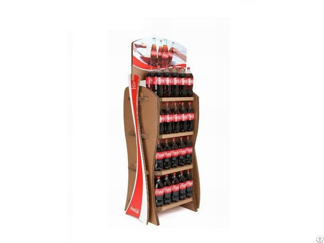 New Hot Fashion Promotion Personalized Wooden Countertop Wine Bottle Display