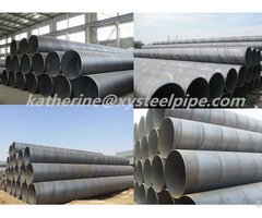 Api 5l Ssaw Steel Pipe